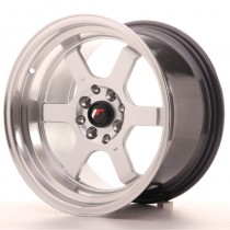 Japan Racing JR12 16x9 4x100/114,3 ET10 73,1 hyper silver/machined lip.