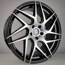 Carbonado Fizzy 19x8,5 5x112 ET40 66,45 black polished