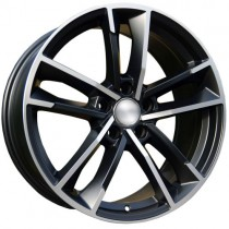 Carbonado Florida 19x8,5 5x112 ET35 66,45 black polished
