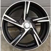 Racing Line FM283 black polished 14x6 4x100 ET38 73,1