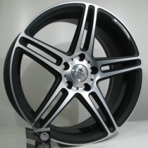 "4Racing Forboss 19"" 5x112 ET35 66,6 matt black polished"
