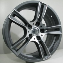 4Racing Fordev antracite polished 17x8 5/100 ET43 73,1