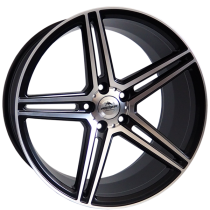 Forzza Bosan 18x8 5x112 ET40 66,45 black polished