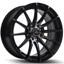 Forzza Atom 15x7 4x100/108 ET25 73,1 black magic