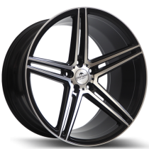"Forzza Bosan 19"" black polished"