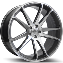 Forzza Solo 22x10,5 5x112 ET38 66,6 anthracite polished
