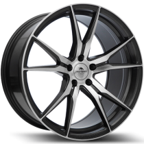 Forzza Ultra 19x8,5 5x112 ET45 66,6 anthracite polished
