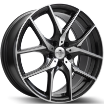 Forzza Vision 18x8 5x112 ET42 66,6 anthracite polished