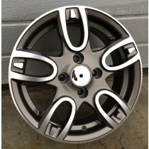 R Line RNFR211 grey polished 14x5,5 4x100 ET35 60,1