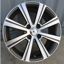 R Line CFR383 grey polished 16x6,5 4x108 ET26 65,1