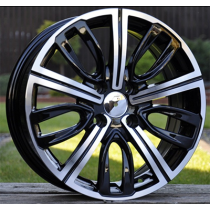 R Line FR531 black polished 16x6.5 4x108 ET26 65.1