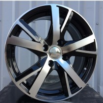 R Line PEFR987 black polished 16x7 4x108 ET29 65,1