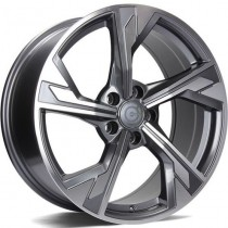 Carbonado Future 18x9 5x112 ET35 66,45 anthracite polished