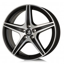 IT Gabriella 18x8 matt black / polished