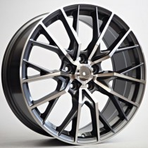 4Racing Gala 19x8 5x1143 ET38 67,1 anthracite polished