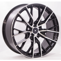 4Racing Gala 17x8 5x114,3 ET45 60,1 black polished