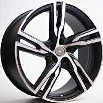 4Racing Globe matt black polished 20x8,5 5/108 ET45 67,1