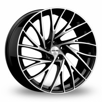 GMP Enigma 18x9 black polished