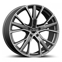 GMP Gunner 19x8,5 anthracite polished