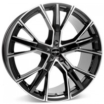 GMP Gunner 22x10 black polished