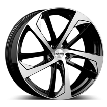 GMP Katana 19x8,5 black polished