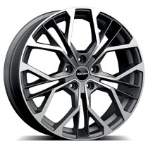 GMP Matisse matt anthracite diamond 18x7,5