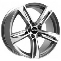 GMP Paky 18x7,5 5x112 ET45 66,5 anthracite polished