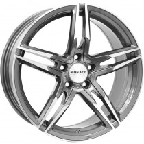 Monaco Grand Prix anthracite polished 17x7,5