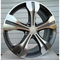 R Line HOH40 grey polished 19x7 5x114,3