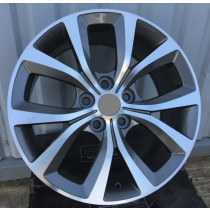R Line OPH5177 grey polished 18x8 5x120