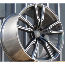 R Line HE5033 anthracite polished 21x11.5 5x120 ET37 74.1