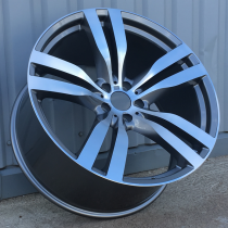 R Line BHE5175 anthracite polished 22x11 5x120 ET37 74,1