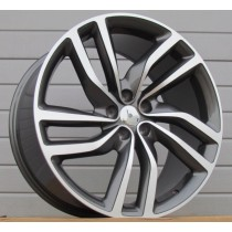R Line JHE721 grey polished 20x9,5 5x108 ET40 63,4