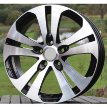 R Line KIHND139 black polished 18x7 5x114,3 ET35 67,1