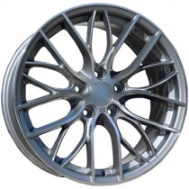 Carbonado Shine 18x8 5x120 ET30 72,6 anthracite polished