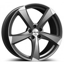 GMP Ican Matt Anthracite Diamond 18x8