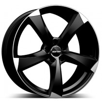 GMP Ican Satin Black Diamond 19x8.5 5x112