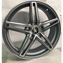 Racing Line RL43 anthracite polished 17x7 5x108 ET45 67,1