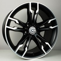 Carbonado Inferno 19x9,5 5x120 ET38 72,6 black polished