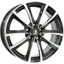 IT Wheels Elena 17x7,5 black polished