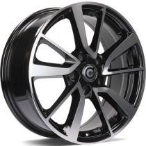 Carbonado Japan 17x7 5x114,3 ET40 73,1 black polished