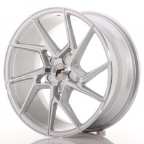 Japan Racing JR33 20x9 blank silver machined