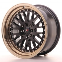 Japan Racing JR10 16x9 black bronze lip