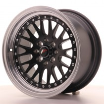 Japan Racing JR10 15x8 black front polished