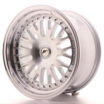 Japan Racing JR10 17x8 blank machined silver