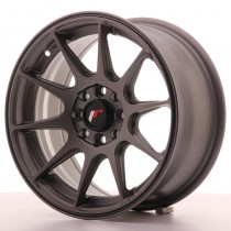 Japan Racing JR11 16x8 matt gun metal