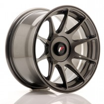 Japan Racing JR11 15x7 blank hyper gray