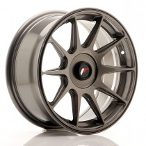 Japan Racing JR11 16x7 blank hyper gray