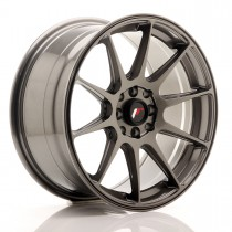 Japan Racing JR11 17x9 4x100/108 ET25 hyper gray