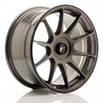 Japan Racing JR11 17x9 blank hyper gray